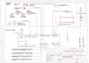 Пример перевода и верстки чертежей AutoCad